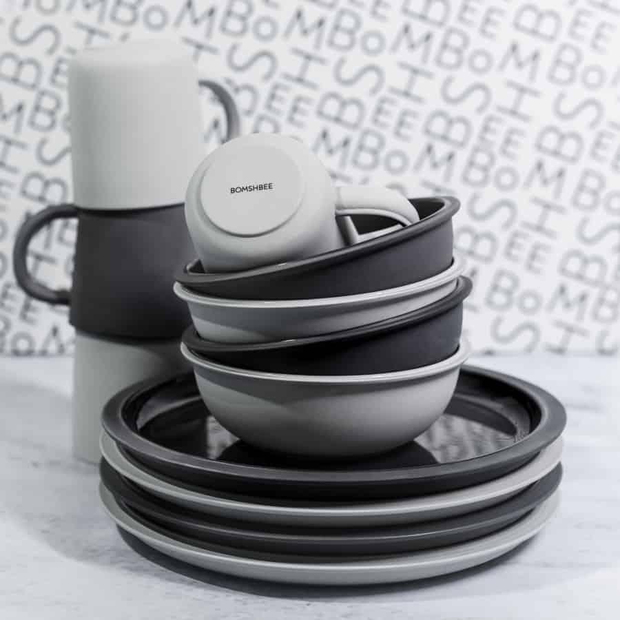 Bomshbee Tinge Porcelain Collection